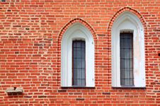 Free Red Brick Wall Royalty Free Stock Image - 20115196