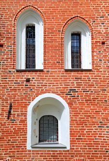Free Red Brick Wall Royalty Free Stock Image - 20115216