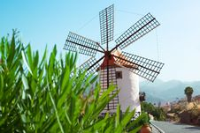 Free Beautiful Windmill Landscape Stock Photo - 20115350
