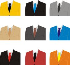 Business Suit Stock Image