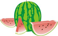 Free Ripe Water-melon Stock Photo - 20115450