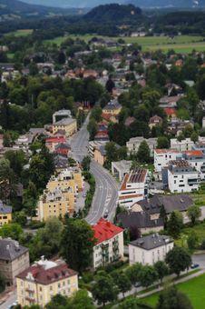 Free Salzburg Cityscape Royalty Free Stock Photography - 20115627