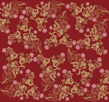 Pattern Rococo Royalty Free Stock Images