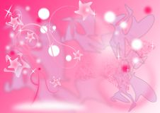 Free Pink Star Tree Royalty Free Stock Photo - 20115655
