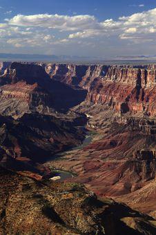 Grand Canyon Desert View Royalty Free Stock Image