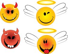 Free Angels And Devils Stock Photos - 20116013