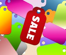 Free Colorful Design Sale Royalty Free Stock Image - 20116286