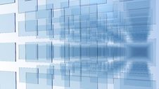 Glass Pannels Array Stock Image