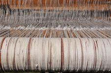 Free Weaving Loom Strings Stock Photo - 20117790