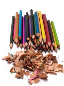 Free Colored Pencils Stock Images - 20118374