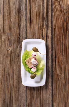 Free Vegetarian Appetizer Stock Image - 20118551