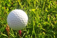 Free Golf Ball Royalty Free Stock Image - 20118576