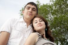 Free Couple Stay Together Royalty Free Stock Photography - 20119527