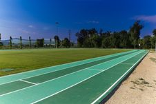 Free Running Track Royalty Free Stock Photos - 20119688
