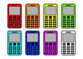 Free Collection Of Mobile Phones Royalty Free Stock Photo - 20121845