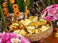 Free Sheets Of Gold Enclosing Desires Stock Image - 20122931