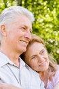 Free Cute Elderly Couple Royalty Free Stock Photos - 20128898