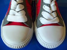 Free Sport Shoes Close Up Royalty Free Stock Photo - 20120235