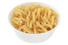 Free Dry Penne In A Bowl Royalty Free Stock Photos - 20120958