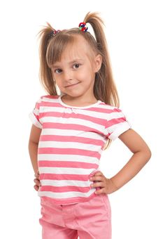 Free Pretty Little Girl Stock Photography - 20121322