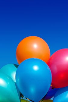 Free Colorful Balloons Stock Photos - 20121393