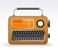 Free Retro Radio Stock Photo - 20121400