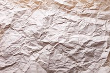 Old Crushed Paper Background Stock Photography