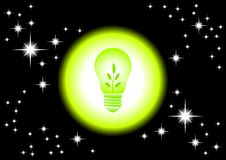 Eco Bulb Stock Image