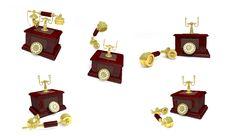 Free Retro Phone Royalty Free Stock Images - 20121789