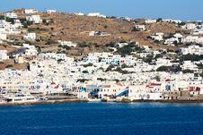 Free White Washed Mykonos Royalty Free Stock Image - 20122246