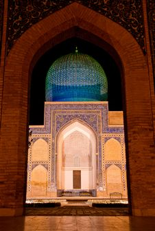 Free Gur-Emir Mausoleum Royalty Free Stock Images - 20122509