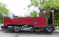 Free Old Vintage Steam Railway Engine Stock Photo - 20122990