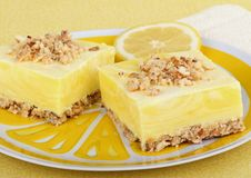 Free Lemon Squares Royalty Free Stock Image - 20123276