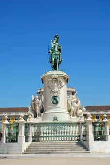 Free Statue Of King José Stock Photos - 20123443