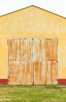 Free Rusty Garage Door Royalty Free Stock Images - 20123649