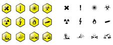 Free Chemical Pictograms Stock Image - 20123791