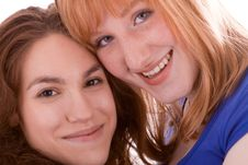 Two Friends Stock Images
