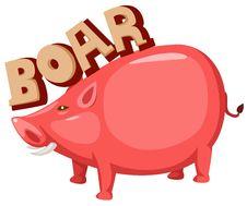 Free Boar Stock Image - 20124281