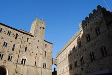 Free Sightseeing In Volterra, A City Stock Photography - 20125232