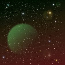 Free Space Background Royalty Free Stock Photo - 20125365