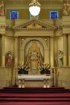 Free Beautiful Catholic Altar Stock Photos - 20126003