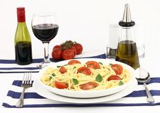 Free Summer Spaghetti Stock Photo - 20126190