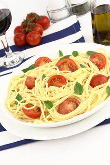 Free Summer Spaghetti Royalty Free Stock Photo - 20126205
