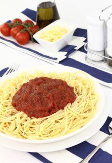 Free Spaghetti Royalty Free Stock Photography - 20126297