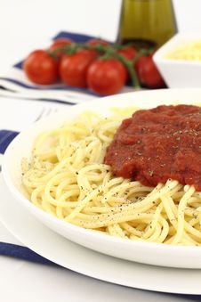 Free Spaghetti Royalty Free Stock Photography - 20126327