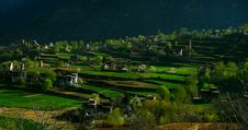 Free Village In A Mountainous Area Stock Photo - 20126390