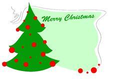Free Christmas Greeting Card Stock Image - 20126391