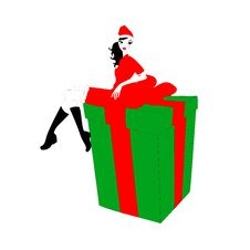 Free Present Box Stock Image - 20126401