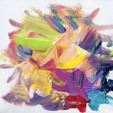 Free Acrylic Paint Background Stock Images - 20126654
