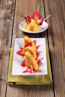 Free Fruit Skewers Stock Photo - 20126830
